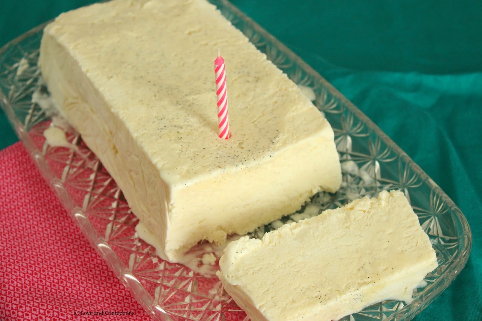 #VanillaWeek Vanilla Bean Semifreddo from LoveandConfections.com