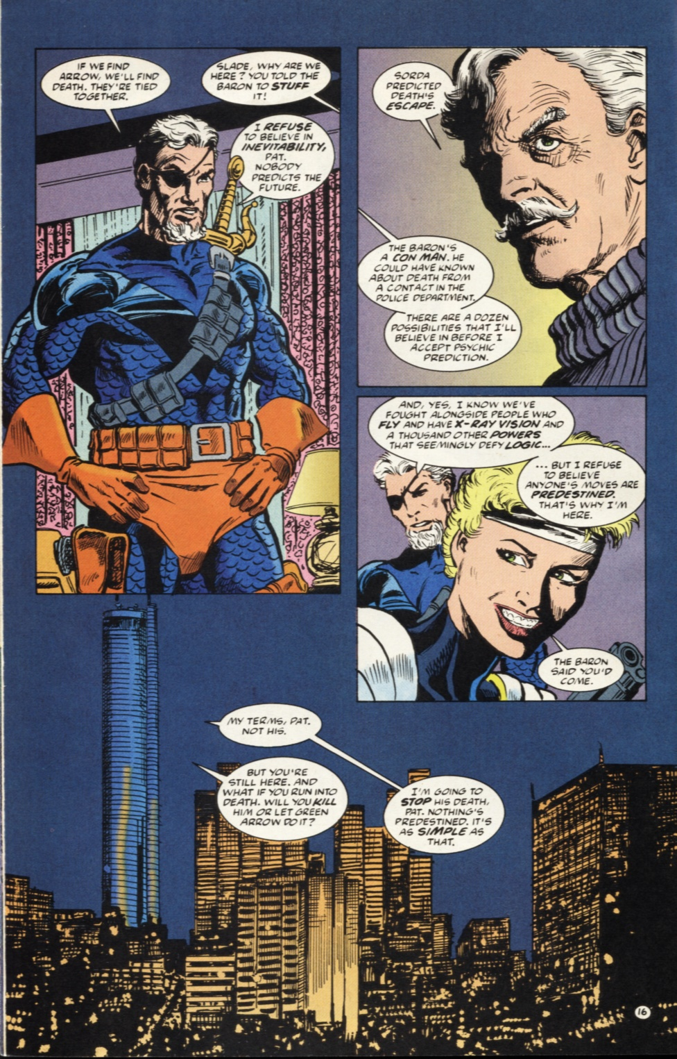 Deathstroke (1991) Issue #39 #44 - English 17