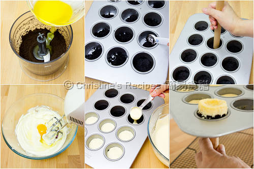 Easy blueberry cheesecake cupcake recipe