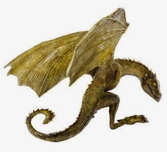 Dragón Rhaegal Noble Collection Juego de Tronos