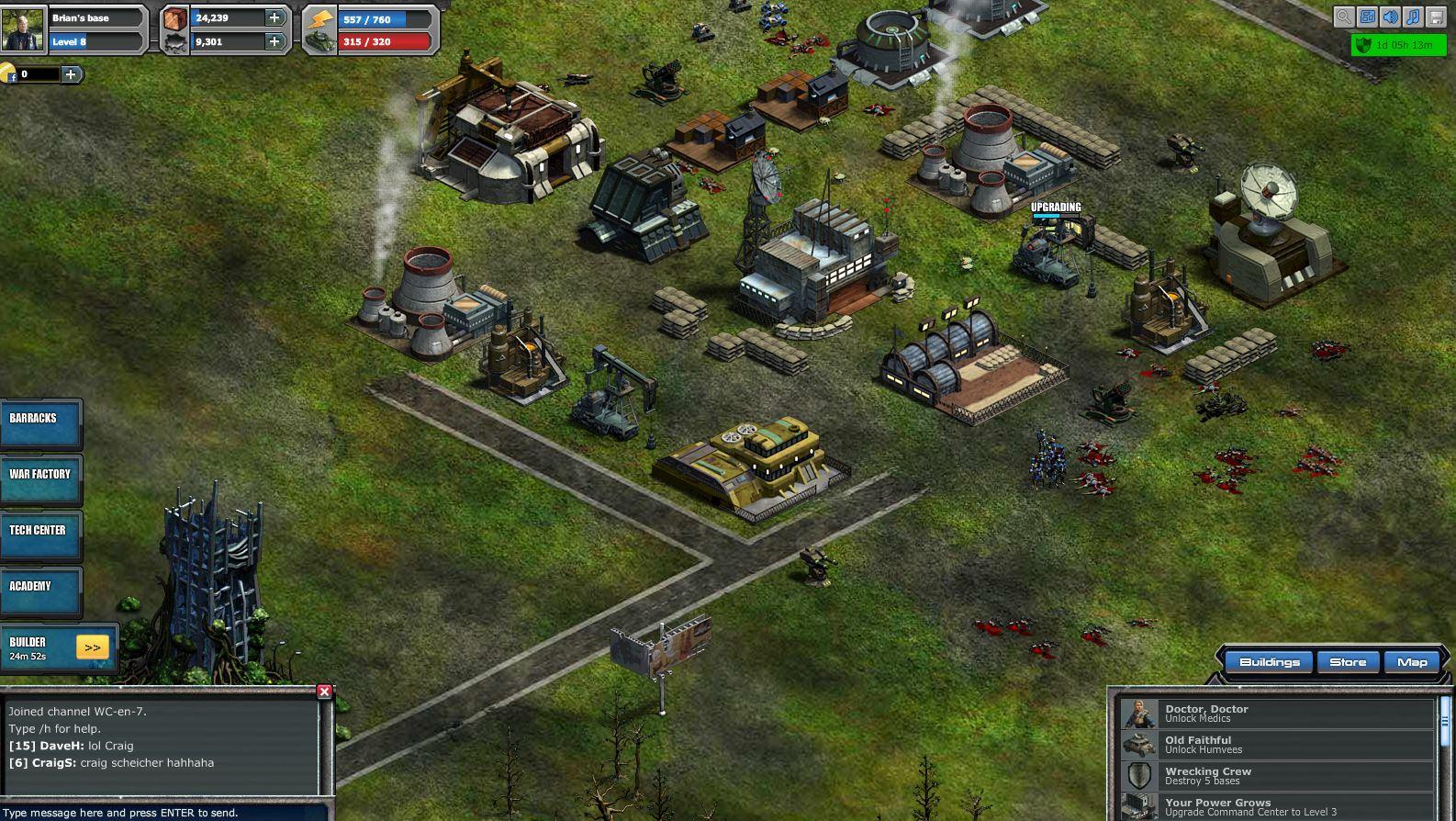 War Aircraft Games War Commander Game Guide