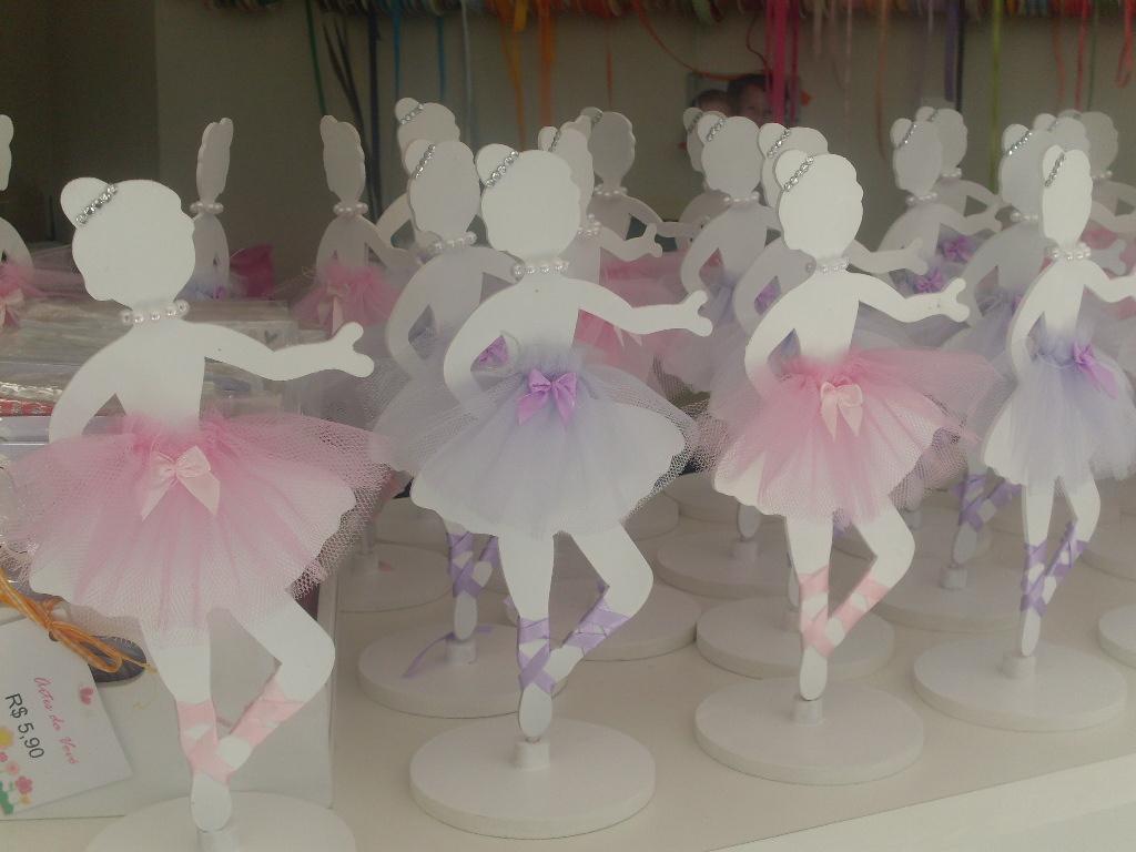 Mania de festa ideias para festa bailarina - Mesa de centro clasica ...