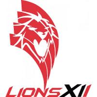 animated spinning lions xii fc logo berpusing