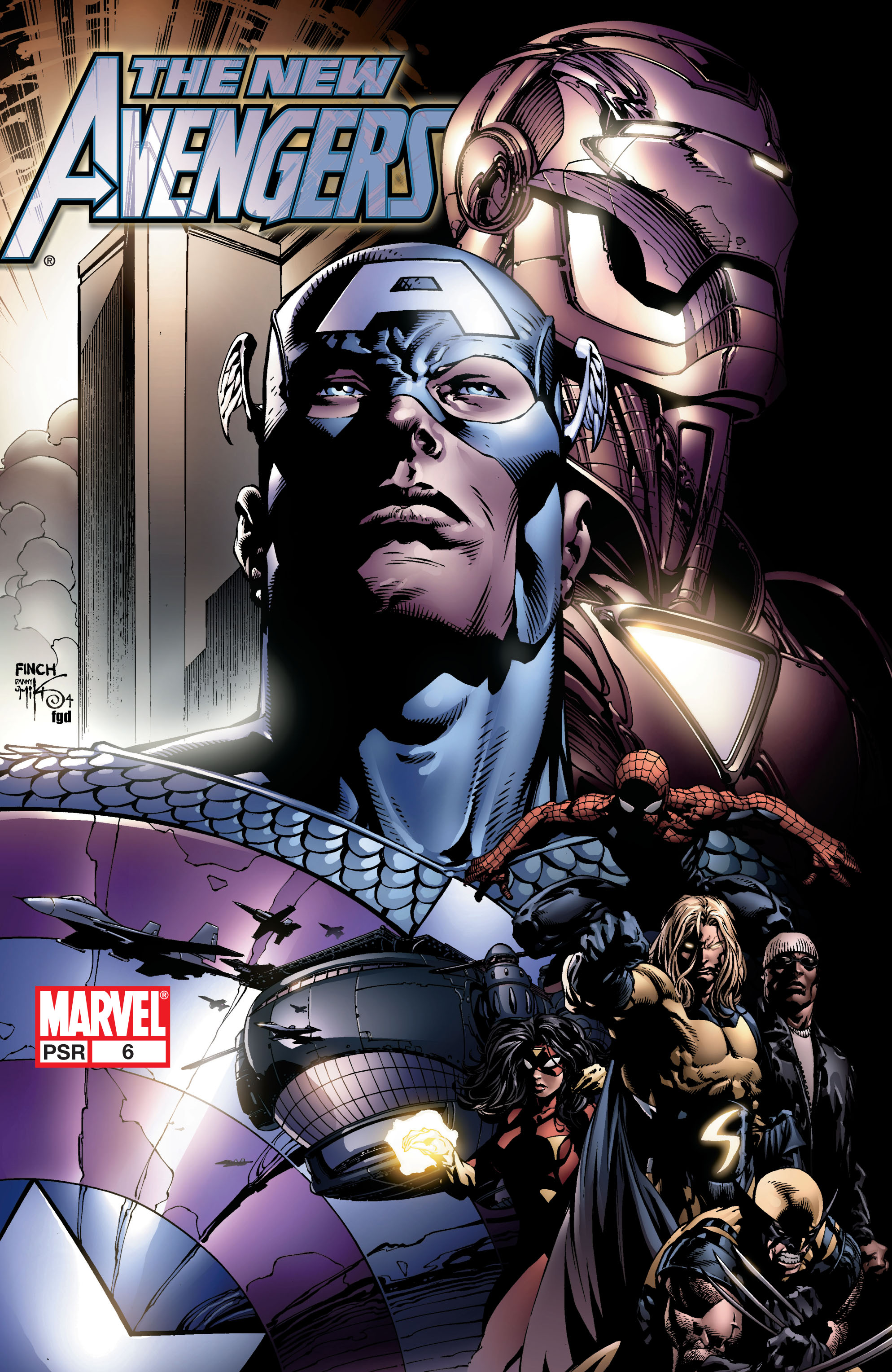 New Avengers (2005) issue 6 - Page 1