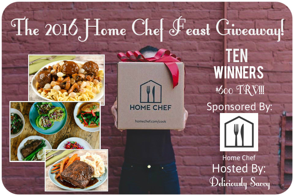 Home Chef Feast Giveaway