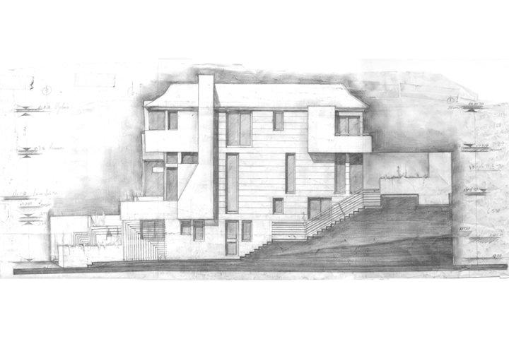 Elevaciones en arquitectura arte for Ejes arquitectonicos