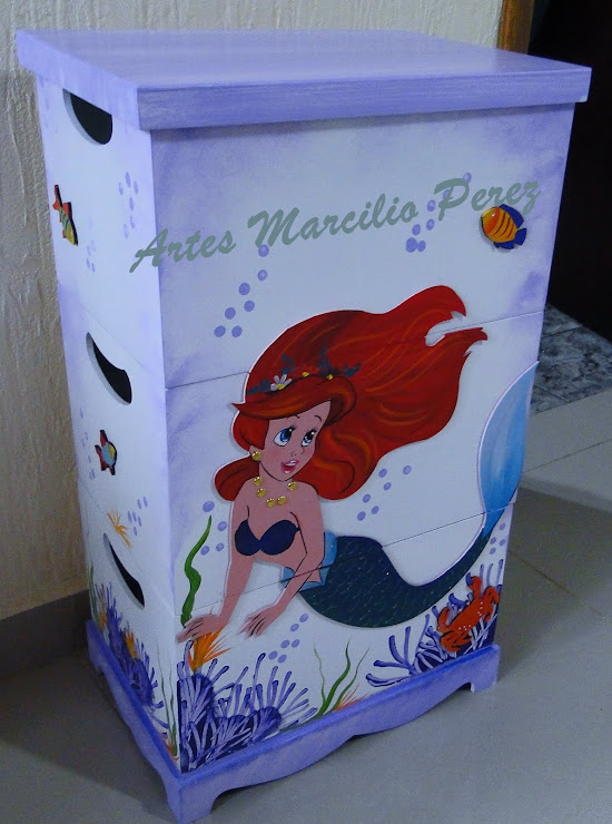 Trio de caixas Ariel R$ 150,00