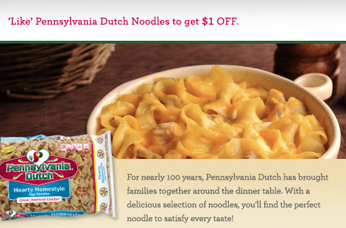 Penn dutch coupons