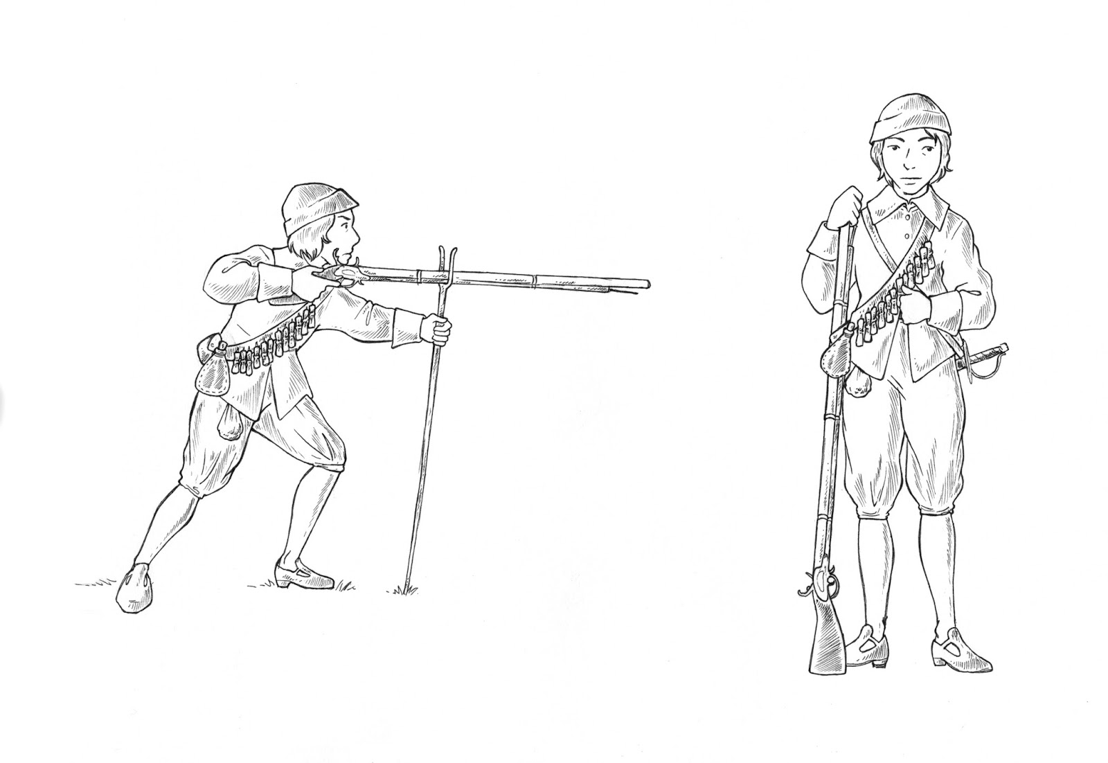 sarah fogg illustration civil war soldiers