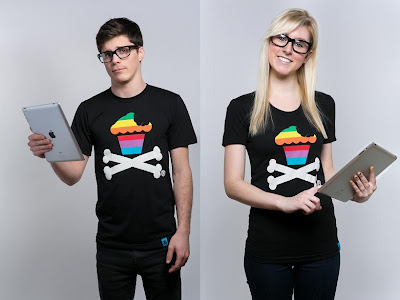 "Johnny Cupcakes x Apple ""Byte Crossbones"" T-Shirt"