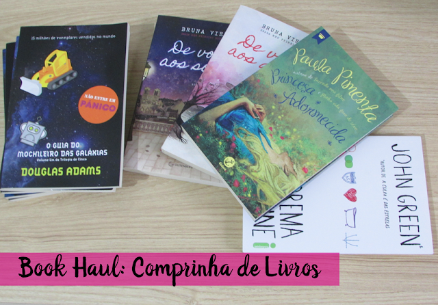 Book Haul, comprinhas, livros, indicação