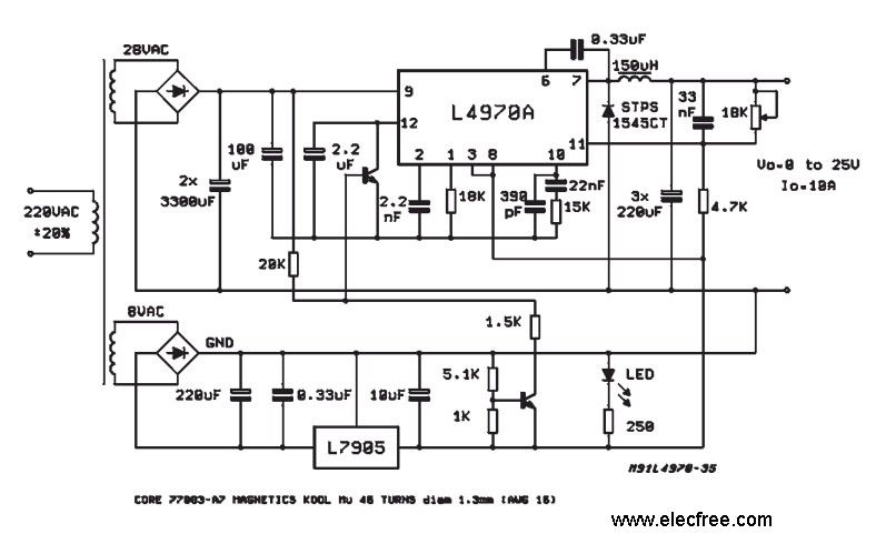 electronics schemes for analog and digital