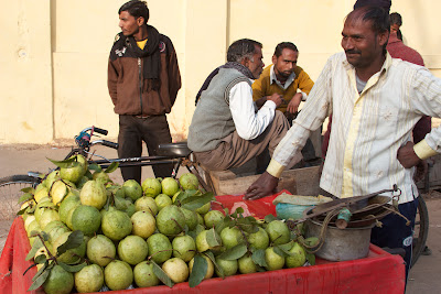 guava vendor in Delhi