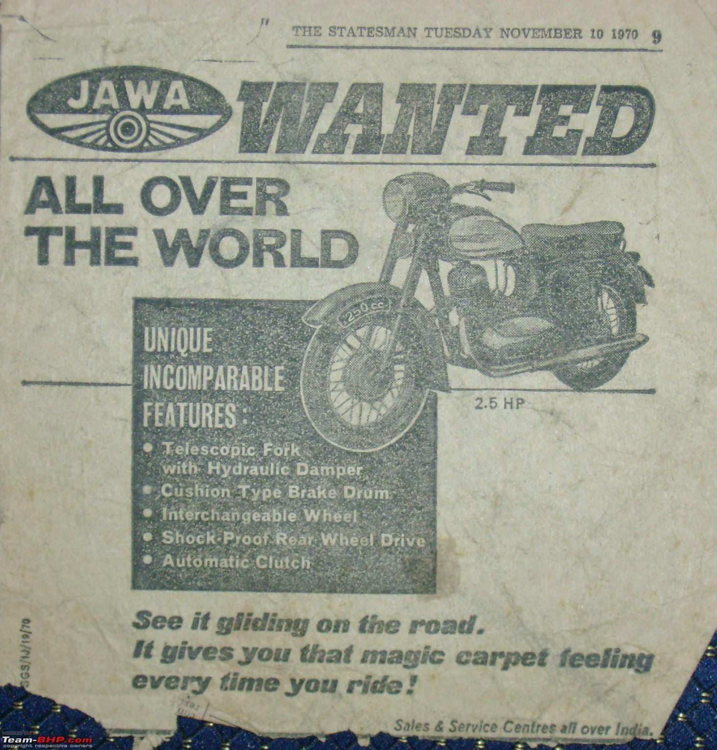 Stara ulotka Jawa (USA)