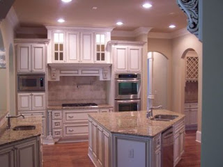 Glazed Kitchen Cabinets design