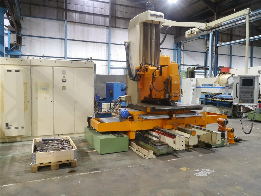 Boko CNC vertical milling machine