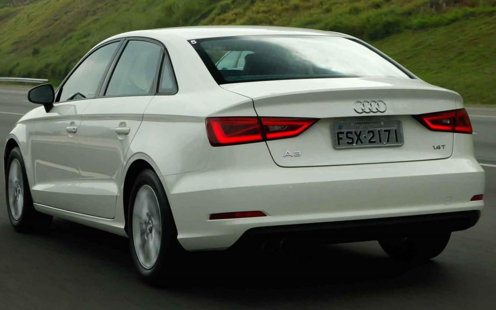 Novo Audi A3 Sedan Flex 2016