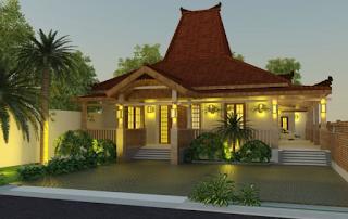 model rumah minimalis etnik