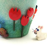 Bunnies, Hearts, Spring!
