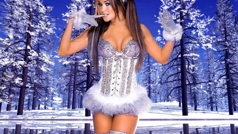 Bare female santa xxx toons