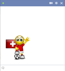 Swiss football smiley