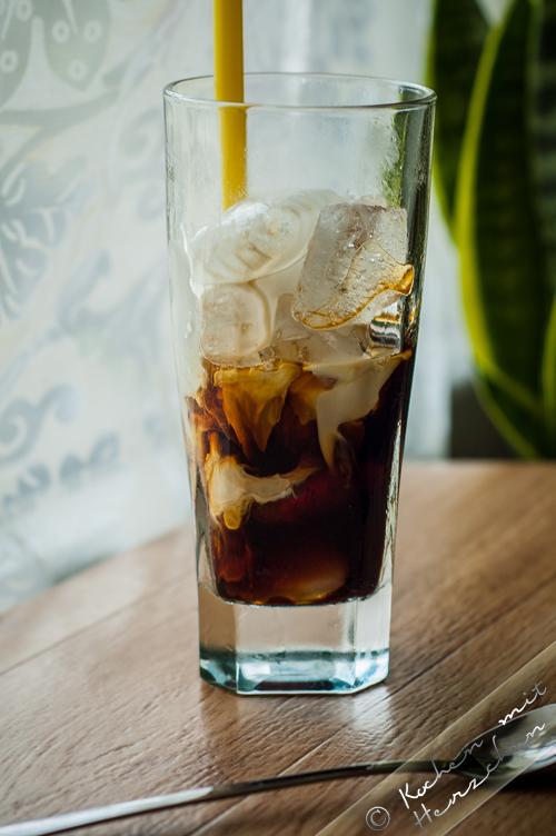 Eiskaffee mit Cold Brew Coffee