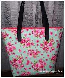 BIG ZIPPER BAG FLOWERS