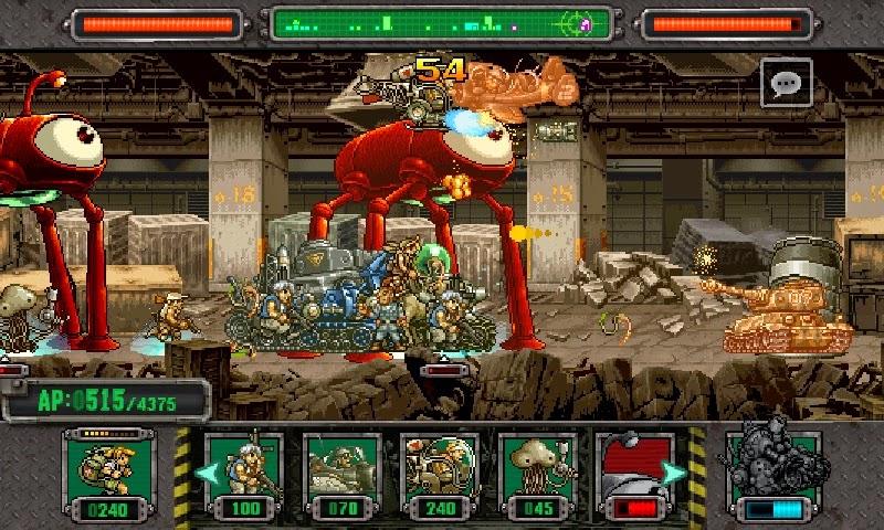 Retrogames: volvé a jugar al Metal Slug