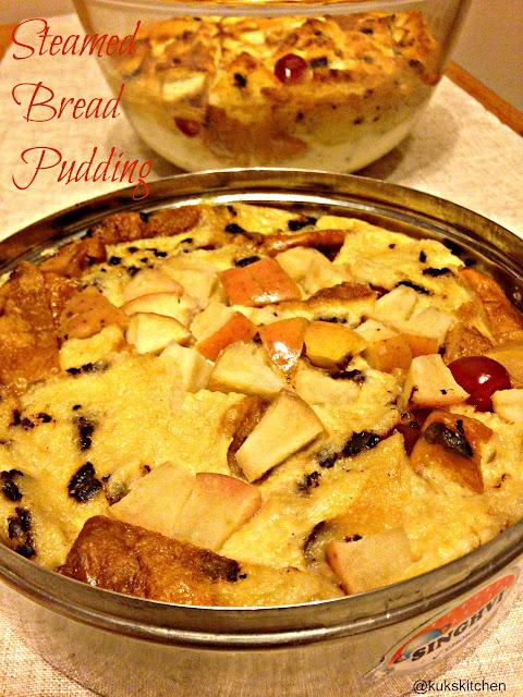 Baked bread pudding   Kukskitchen