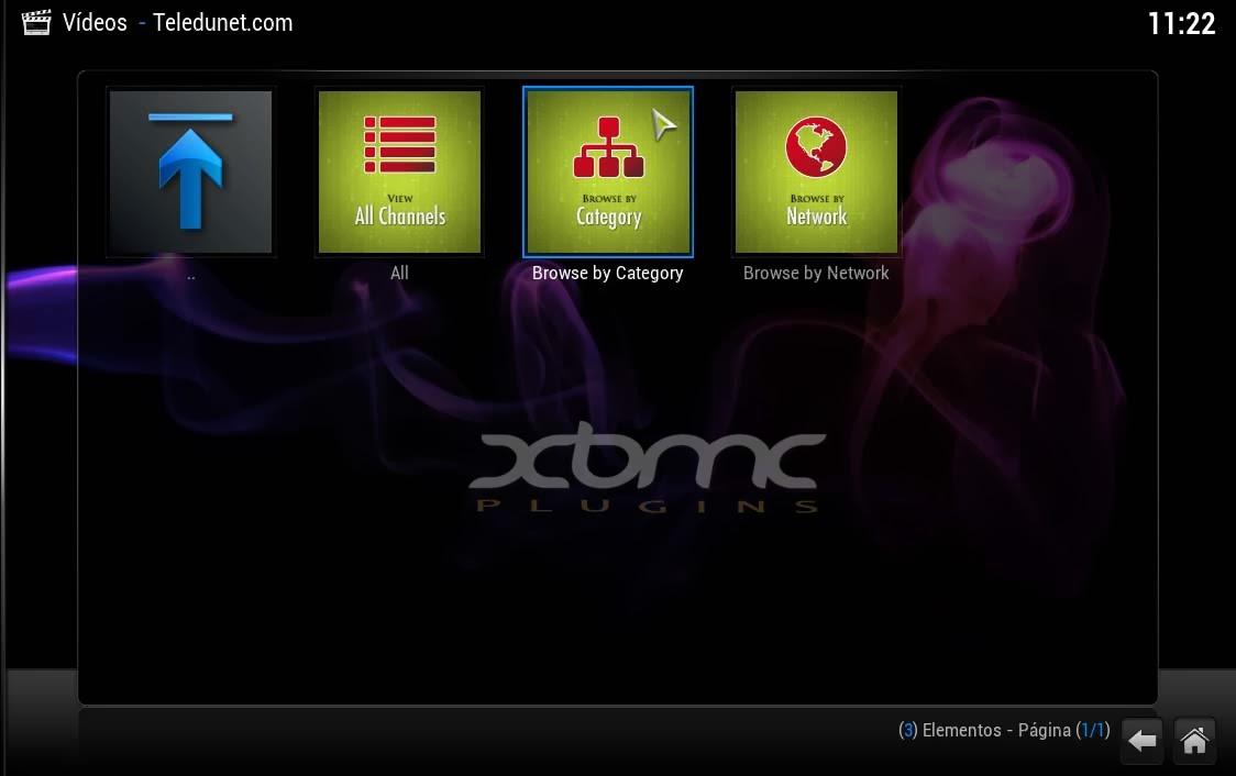 Teledunet Xbmc