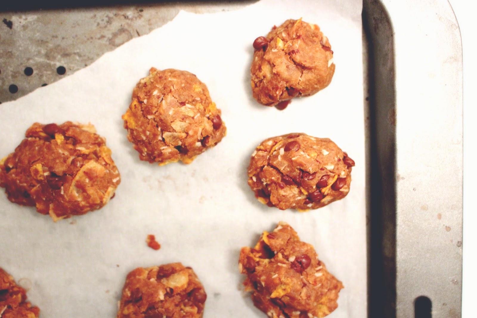Everything Cookies (vegan, gluten free) - BAKING BACKWARDS