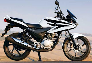 Honda CBF 125 CC White