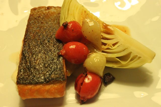 salmon, cabbage, rose hips, linn Soderstrom, Swedish supper club hostess