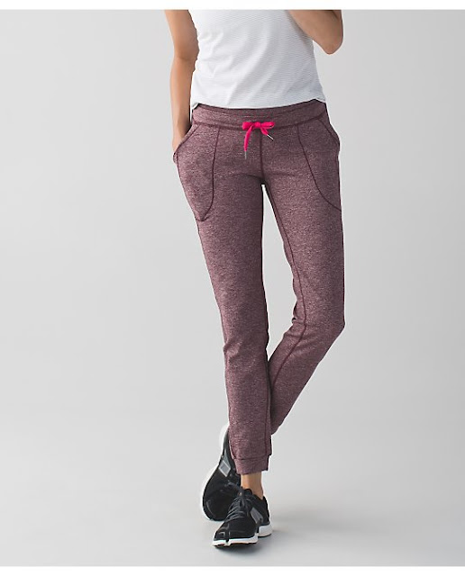 lululemon bordeaux base-runner-pant