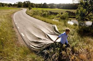 As vezes temos que contruirmos nossa própria estrada...