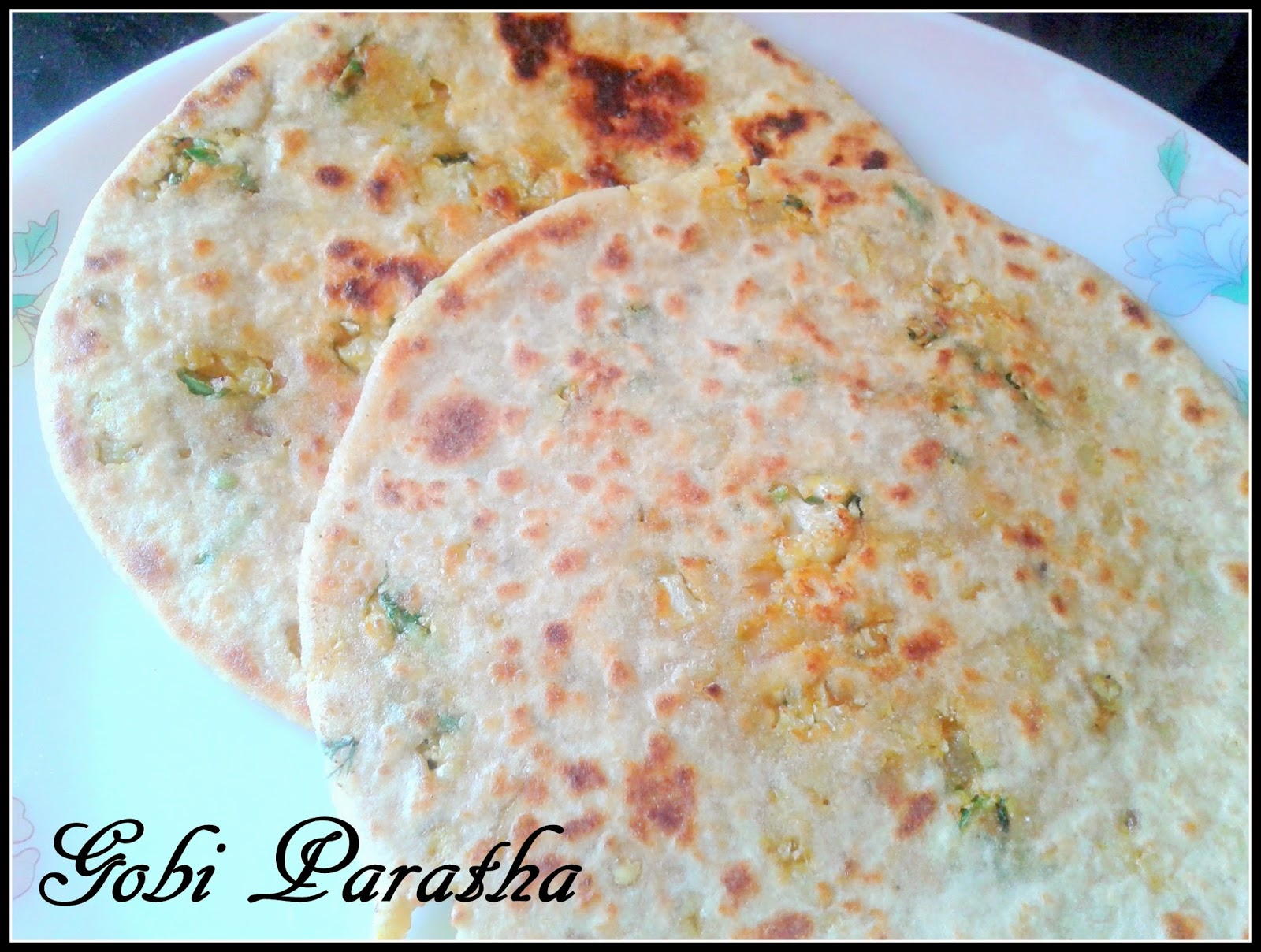 how to make aloo gobi paratha