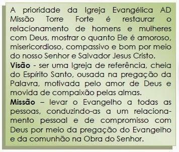 Visão e Missão da Igreja