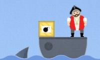 Korsanları Köpek Balığına Yem Etme Oyunu