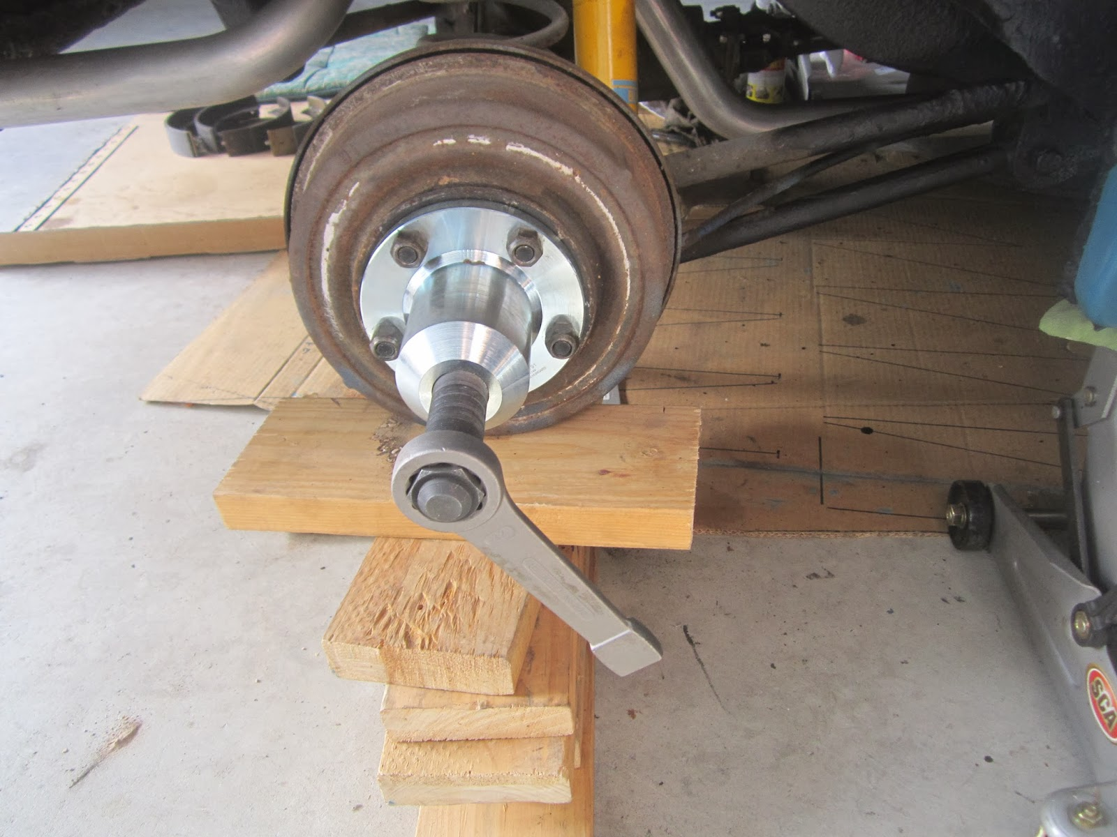 Restoration Volvo 122S 1969: Fixing the rear wheel drum brakes