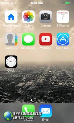 cara merubah tampilan android jadi iphone
