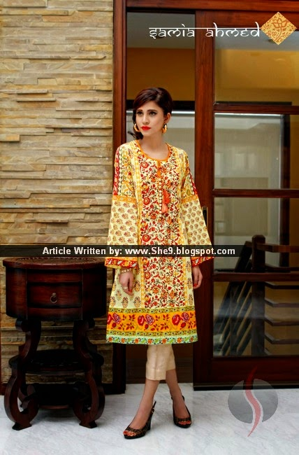 Samia Ahmed Lawn Pret for Summer 2015