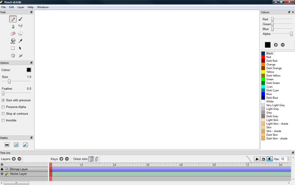 Pencil 2D Animation Software