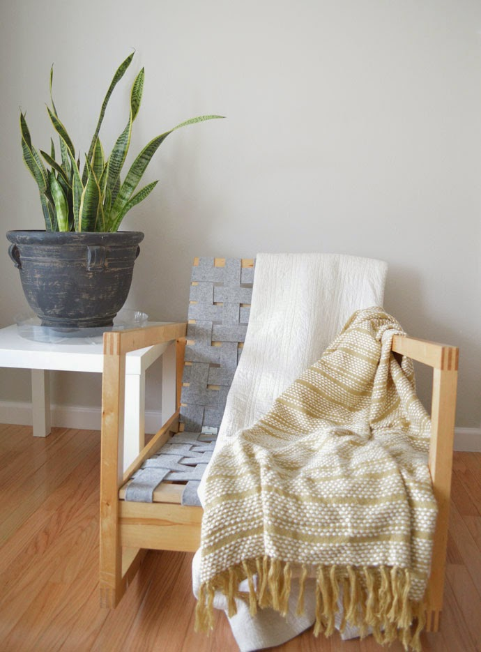 DIY Woven Chair Seat & swoon studio: DIY Woven Chair Seat