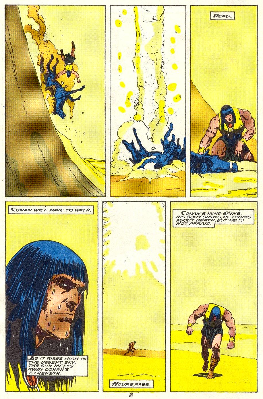 Conan the Barbarian (1970) Issue #214 #226 - English 3