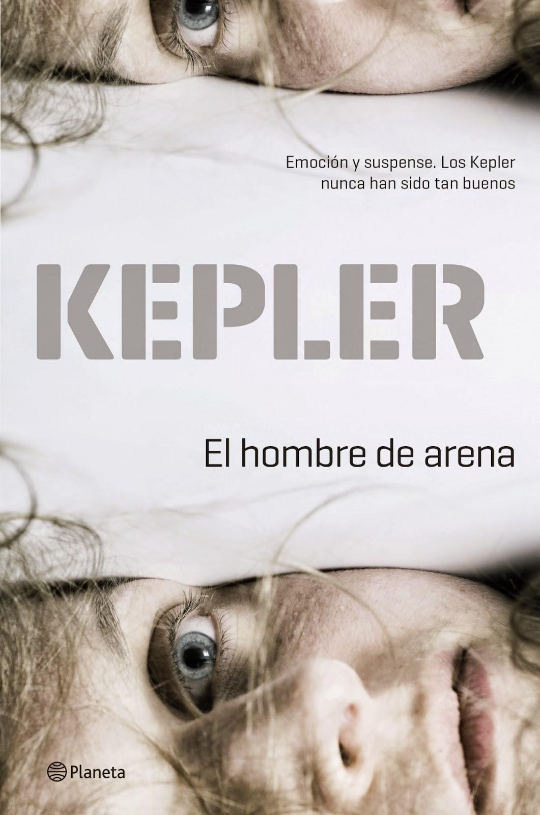 El hombre de arena/ Lars Keppler