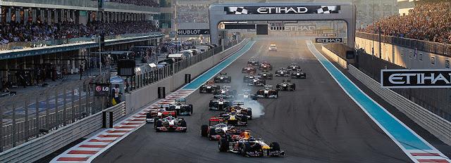 2012 Abu Dhabi  F1 Grand Prix ; The Yas Marina Circuit