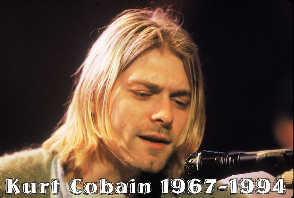 Kurt Cobain - dead for 20 years