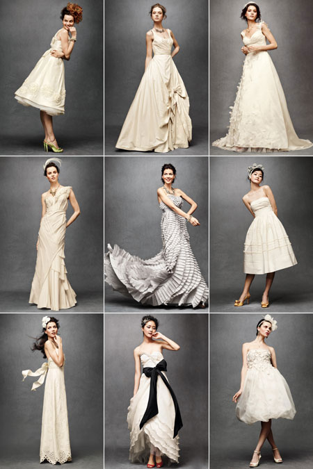 The subconcious bhldn for Beholden wedding dresses