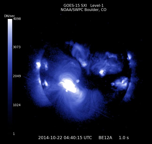 ALERTA TORMENTA SOLAR: Descomunal mancha solar 11 veces mayor que la tierra apuntara hacia la Tierra, 22 de Octubre 2014