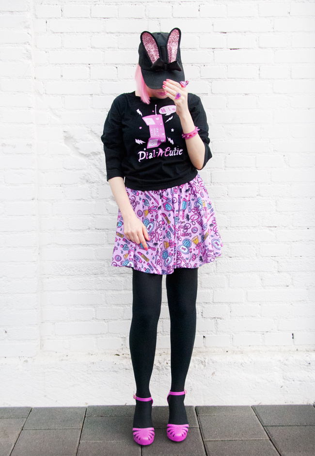 tilly me, streetstyle, barbie look